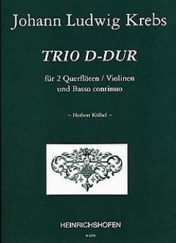 Johann Ludwig Krebs - Trio D-Dur – 2 Flöten (Violinen) Bc - Partition - di-arezzo.fr