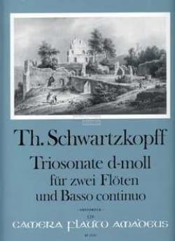 Theodorus Schwartzkopff - Triosonate d-moll - 2 Flöten Bc - Sheet Music - di-arezzo.com
