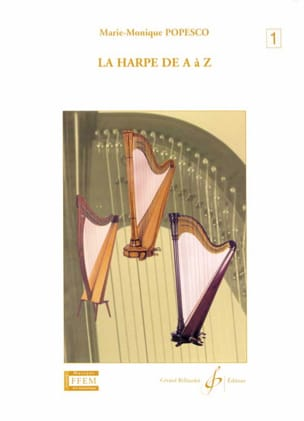 Marie-Monique Popesco - The harp from A to Z - Volume 1 - Sheet Music - di-arezzo.co.uk