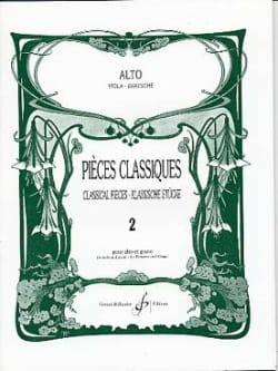 Pièces Classiques Volume 2 - Alto Frédéric Lainé laflutedepan
