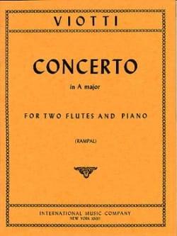 Concerto A major -2 flutes piano - laflutedepan.com