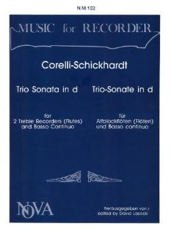 Trio Sonata in d-moll -2 Altblockflöten Bc - laflutedepan.com