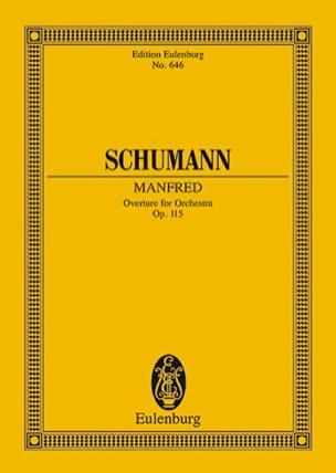 Manfred, Ouverture, Opus 115 SCHUMANN Partition laflutedepan