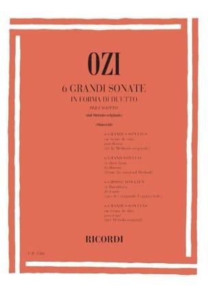 6 Grandi Sonate Etienne Ozi Partition Basson - laflutedepan