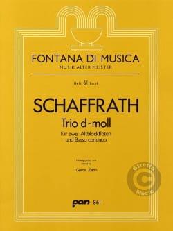 Trio d-moll - 2 Altblockflöten BC Christoph Schaffrath laflutedepan