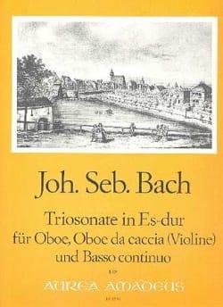 Triosonate Es-Dur -Oboe Oboe da caccia u. BC BACH laflutedepan