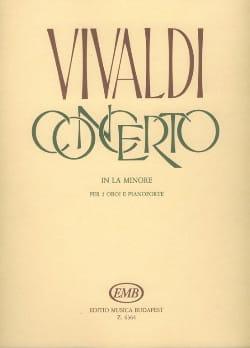 Concerto in la minore Rv 536 –2 Oboi piano - laflutedepan.com