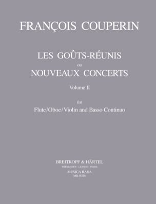 Les goûts réunis, Volume 2 – Flute / oboe / violin and Bc - laflutedepan.com