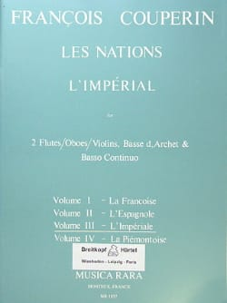 François Couperin - Nations - Volume 3: Imperial Oil - Sheet Music - di-arezzo.co.uk