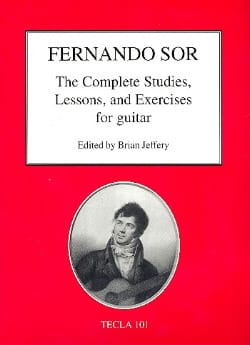 The Complete Studies, Lessons and Exercices - Guitare - laflutedepan.com
