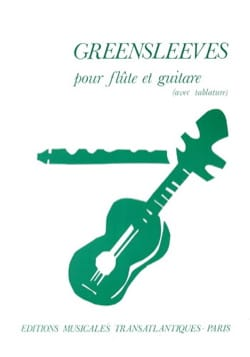 Greensleeves – Flûte guitare - Partition - Duos - laflutedepan.com