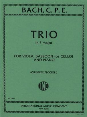 Trio in F major Viola bassoon piano laflutedepan