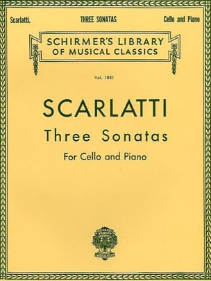 Domenico Scarlatti - 3 Sonatas - Sheet Music - di-arezzo.co.uk