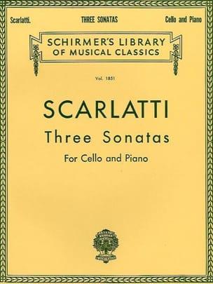 Domenico Scarlatti - 3 Sonatas - Partitura - di-arezzo.es