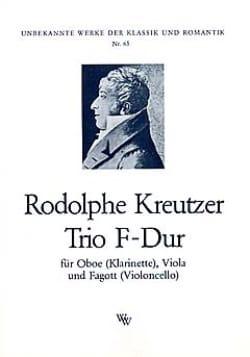 Trio F-Dur -Oboe Viola Fagott - Rodolphe Kreutzer - laflutedepan.com