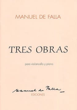 DE FALLA - Tres obras - Cello - Sheet Music - di-arezzo.com