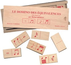 Michel Mériot - The Domino of Equivalences - Musical Game - Sheet Music - di-arezzo.co.uk