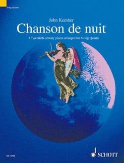 Chanson de Nuit op. 15 n° 1 – String Quartet - laflutedepan.com