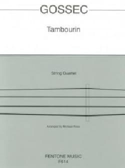 Tambourin - String Quartet - François-Joseph Gossec - laflutedepan.com