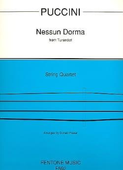 Nessuna Dorma from Turandot - String Quartet - laflutedepan.com