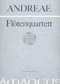 Volkmar Andreae - Flötenquartett op. 43 –Partitur + Stimmen - Partition - di-arezzo.fr