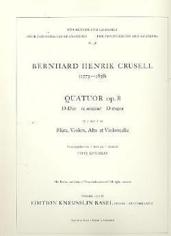 Quatuor op. 8 ré majeur - Flûte, violon, alto et violoncelle - laflutedepan.com