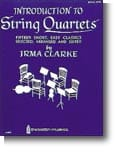Irma Clarke - Introduction to String Quartets - Book 1 - Partition - di-arezzo.fr