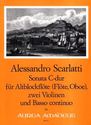 Sonata C-Dur - Altblockflöte 2 Violinen BC laflutedepan