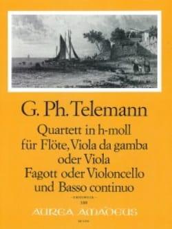 Quartett h-moll –Flöte Viola da gamba Fagott BC - laflutedepan.com