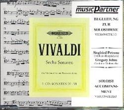Antonio Vivaldi - Sechs Sonaten Volume 1 / CD - Vcelle & Bc - Partition - di-arezzo.fr