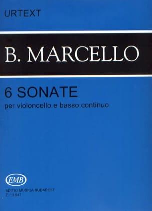Benedetto Marcello - 6 Sonatas for cello and basso continuo - Sheet Music - di-arezzo.co.uk