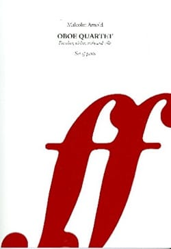 Malcolm Arnold - Oboe Quartet, Op. 61 - Parties - Partition - di-arezzo.fr