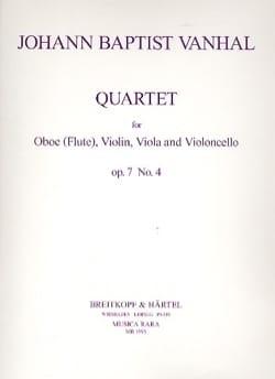 Quartet op. 7 n° 4 –Oboe violin viola cello - laflutedepan.com