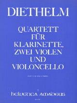 Quartett op. 167 - Klarinette 2 Violen Violoncello - Partitur + Stimmen - laflutedepan.com
