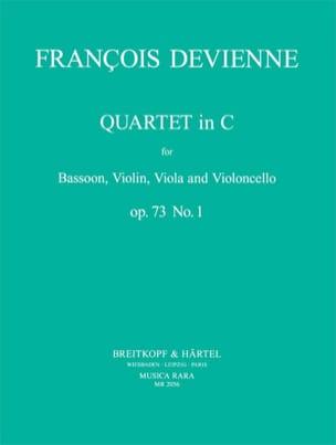 François Devienne - Quartet In C Maj. Op. 73 N ° 1 - Sheet Music - di-arezzo.com