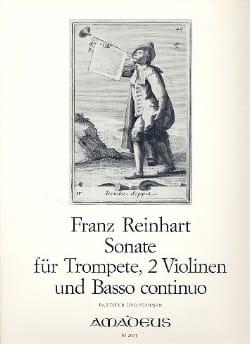 Franz Reinhart - Sonate – Trompete 2 Violinen BC - Partitur + Stimmen - Partition - di-arezzo.fr