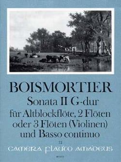 Sonata Nr. 2 G-Dur -Altblockflöte 2 Flöten u. BC laflutedepan