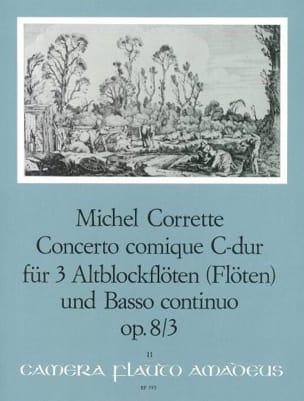 Concerto comique in C-Dur op. 8 n° 3 - 3 Altblockflöten BC laflutedepan
