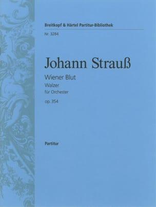 Wiener Blut - Walzer Op. 354 Johann Strauss Partition laflutedepan