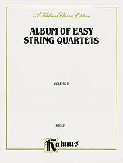 String Quartet Album - Album of easy String Quartets, Volume 1 - Partition - di-arezzo.fr