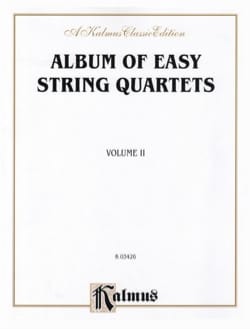 Album of easy String Quartets, Volume 2 laflutedepan