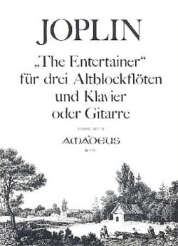 The Entertainer -3 Altblockflöten Klavier o. Gitarre laflutedepan