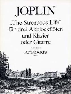 The Strenuous Life -3 Altblockflöten Klavier Gitarre - laflutedepan.com