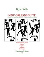 Bryan Kelly - New Orleans Suite – 2 Oboes bassoon harpsichord - Partition - di-arezzo.fr