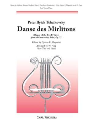 Piotr Illitch Tchaikovski - Danse des Mirlitons - 3 Flûtes-Piano - Partition - di-arezzo.fr