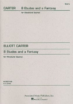 8 Etudes and a Fantasy - Woodwind quartet Elliott Carter laflutedepan
