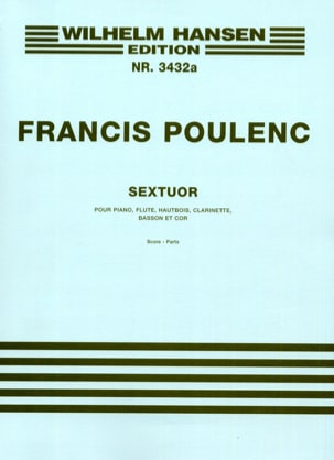 Francis Poulenc - Sextuor - Parts - Sheet Music - di-arezzo.co.uk