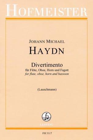 Divertimento - Flöte Oboe Horn Fagott - Stimmen - laflutedepan.com