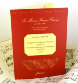 Jean-Marie Leclair - 1ère et 2ème Récréations de musique - op. 6 et 8 -Fac similé - Partition - di-arezzo.fr