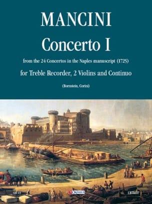Concerto 1 -flauto 2 violini e bc Francesco Mancini laflutedepan